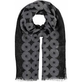 Fraas Dámský obdélníkový šátek 625372 - černá