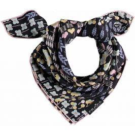 Fraas Dámský hedvábný čtvercový šátek 612180 - růžová