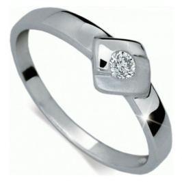 Danfil Zlatý zásnubní prsten s diamantem DF1241b 50 mm