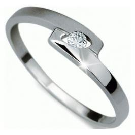 Danfil Jemný prsten s diamantem DF1284b 56 mm