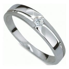 Danfil Krásný prsten s diamantem DF1660b 58 mm