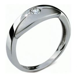 Danfil Zlatý prsten s diamantem DF1720b 56 mm