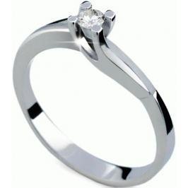 Danfil Luxusní zásnubní prsten s diamantem DF1854b 57 mm