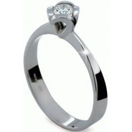 Danfil Originální zásnubní prsten s diamantem DF1857b 59 mm