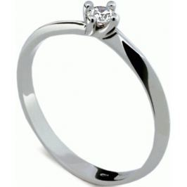 Danfil Jemný zásnubní prsten s diamantem DF1907b 55 mm
