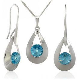 MHM Souprava šperků Karen 2 Aquamarine 34167