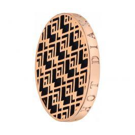 Hot Diamonds Přívěsek Emozioni Art Deco Wave Rose EC112-132 25 mm