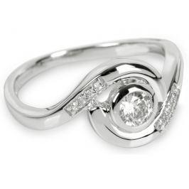 Silver Cat Stříbrný prsten s krystaly SC112 56 mm