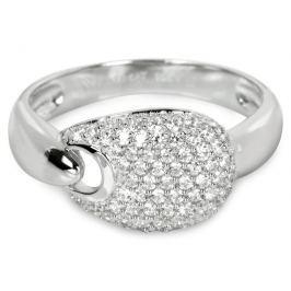 Silver Cat Stříbrný prsten s krystaly SC106 58 mm