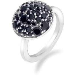 Hot Diamonds Prsten Emozioni Laghetto Bouquet Black ER010 52 mm