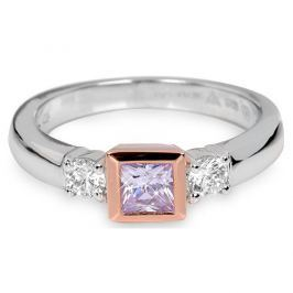 Silver Cat Stříbrný prsten s krystaly SC145 60 mm