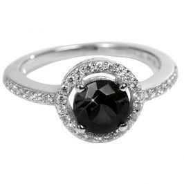 Silver Cat Stříbrný prsten s krystaly SC163 54 mm