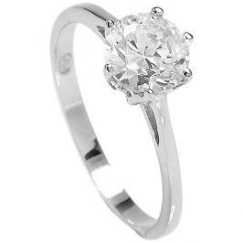 Brilio Silver Stříbrný zásnubní prsten 5119085 58 mm