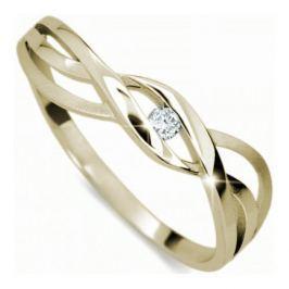 Danfil Jemný prsten s diamantem DF1843z 50 mm