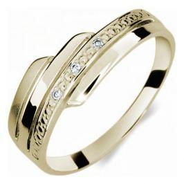 Danfil Krásný prsten s diamanty DF1844z 59 mm
