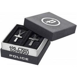 Police Sada náhrdelníků Křížek Cryptic PJ25694SET