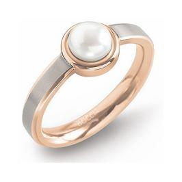 Boccia Titanium Titanový prsten s perlou 0137-02 50 mm