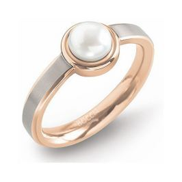 Boccia Titanium Titanový prsten s perlou 0137-02 60 mm