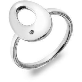 Hot Diamonds Stříbrný prsten s diamantem Emerge Oval DR160 59 mm