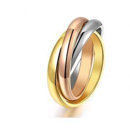 Troli Ocelový tricolor prsten KRS-247 52 mm