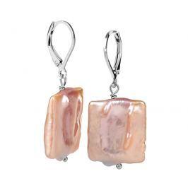 JwL Luxury Pearls Stříbrné náušnice s pravou perlou JL0303