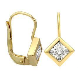 Brilio Zlaté náušnice s krystalem 236 001 00977 - 1,75 g