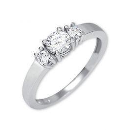Brilio Silver Stříbrný prsten s krystaly 426 001 00498 04 - 2,03 g 56 mm