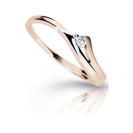 Danfil Luxusní zásnubní prsten DF1718p 57 mm