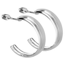 Brilio Silver Stříbrné náušnice půlkruhy 431 001 02725 04 - 3,90 g