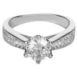 Brilio Silver Stříbrný zásnubní prsten 426 158 00081 - 4,05 g 50 mm