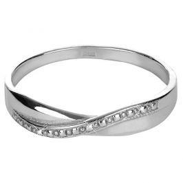 Brilio Silver Jemný stříbrný prsten 421 001 01656 04 - 1,13 g 54 mm