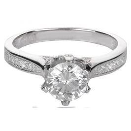 Brilio Silver Stříbrný zásnubní prsten 426 158 00075 - 2,50 g 50 mm