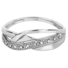 Brilio Silver Módní stříbrný prsten 421 001 01658 04 - 1,64 g 56 mm
