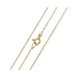 Brilio Elegantní zlatý řetízek 42 cm 271 115 00272 - 1,25 g