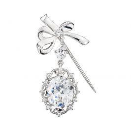 Preciosa Stříbrná brož Royal Jewel 5079 00