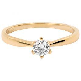 Brilio Něžný zásnubní prsten 226 001 01024 53 mm