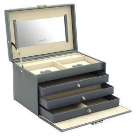 Friedrich Lederwaren Šperkovnice šedá Jolie 23256-92