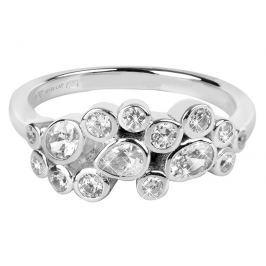 Silver Cat Oslnivý prsten se zirkony SC279 56 mm