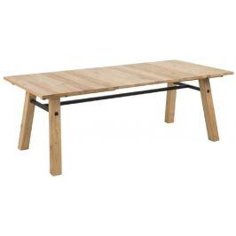 SCANDI Hnědý dubový jídelní stůl Kiruna 210 cm