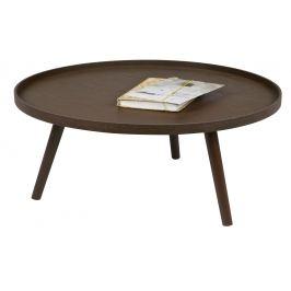 Hoorns Hnědý konferenční stolek Mireli 78 cm