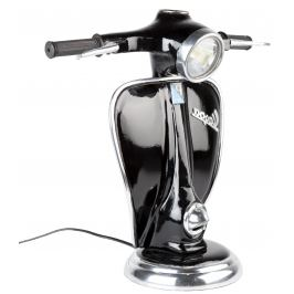 Černá kovová lampa RGE Vespa