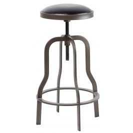 Hnědá čalouněná stolička RGE Vegas