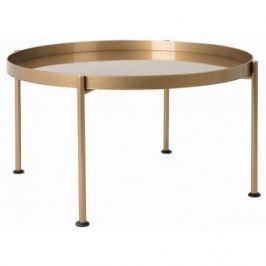 Nordic Konferenční stolek Nollan II 80 cm, černá