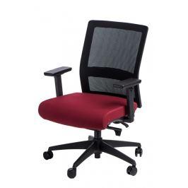 Culty Kancelářská židle Milneo, látka, černá/červená