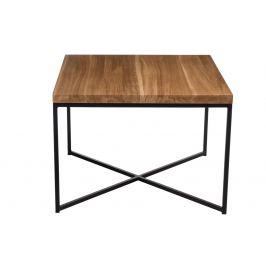 Culty Konferenční stolek Tacros II 100x100 cm, dub/černá