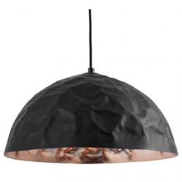Nordic Závěsné světlo Deacon 40 cm, kov, měděná/černá
