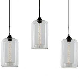 Culty Transparentní závěsné světlo Istanbul CL 76 cm