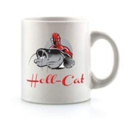Hell-Cat Hrnek bílí s logem
