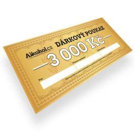 Dárkový poukaz 3 000 Kč