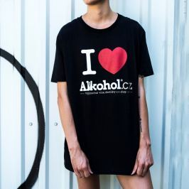 Tričko Alkohol.cz Srdce M